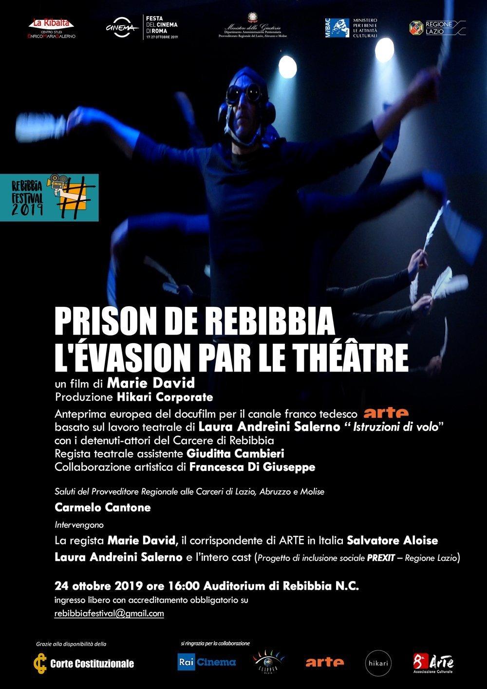 Prison de Rebibbia. L'évasion par le théâtre