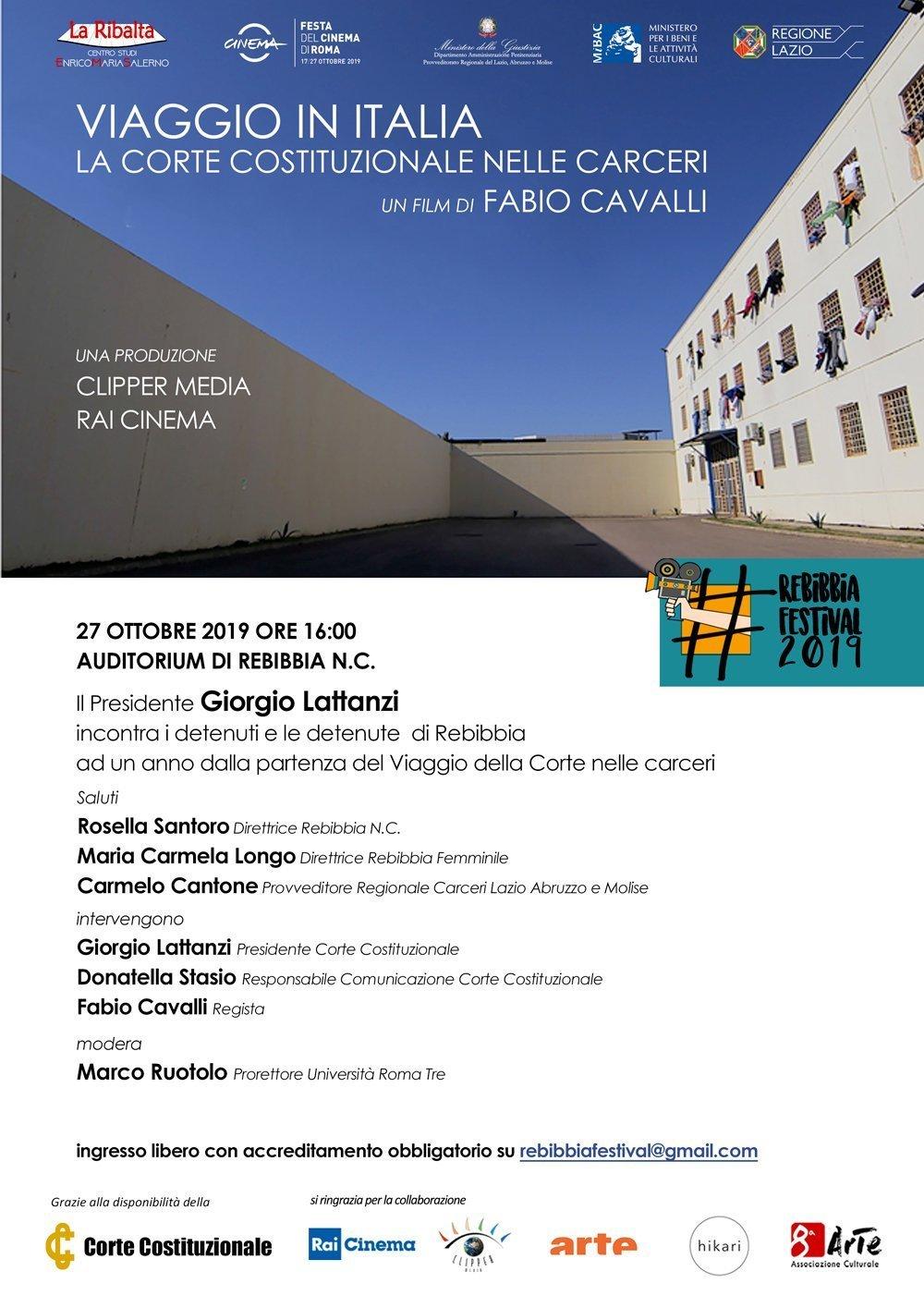 Viaggio in Italia - la Corte Costituzionale nelle Carceri